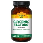 Country Life - Glycemic Factors - 100錠 グリセミックファクターズ【別送料】