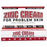 Margarite Cosmetics - Zinc Cream For Problem Skin - 1 oz (28 g)