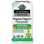 Garden of Life - Dr. Formulated Enzymes Organic Digest + Tropical Fruit - 90 チュアブル 【別送料】