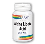 SOLARAY Alpha Lipoic Acid 250 mg - 60cp  アルファリポ酸