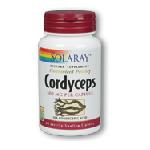 SOLARAY - Cordyceps Ext 500mg (60CAP) 冬中夏草 エキス