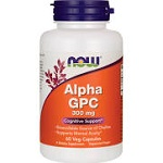 NOW Foods - Alpha GPC 300 mg - 60カプセル