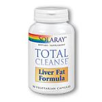 SOLARAY - Total Cleanse Liver Fat Formula - 90cp