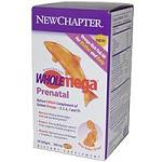 New Chapter社 - Wholemega Prenatal 500 mg - 90 Softgels 妊婦さん用フィッシュオイル 【別送料】