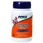 Now Foods - 7-Keto LeanGels Weight Management 100 mg - 60ソフトジェル