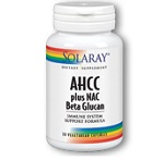 SOLARAY - AHCC Plus NAC & Beta Glucan - 30カプセル
