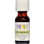 Aura Cacia - 100% Pure Essential Oil Bergamot, Uplifting - 15 ml