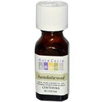 Aura Cacia - 100% Pure Essential Oil Sandalwood, Centering - 0.5 fl oz (15 ml)