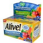 Nature's Way - Alive!, Men's Energy Multivitamin/Multimineral - 50 錠 アライブ 男性用エナジーマルチビタミン