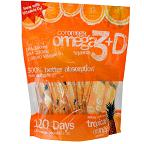 Coromega Omega3 plus D Squeeze - Tropical Orange Smoothie 味 - 2.5g x 120 Squeeze Packets【別送料】