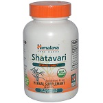 Himalaya Herbal Healthcare - Shatavari, Female Tonic - 60 カプセル シャタヴァリ