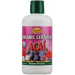Dynamic Health - Organic Certified Acai Berry Juice Blend - 33.8 fl oz 【別送料】アサイブレンドジュース