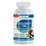 xxxNuTherapy(NuSource) - Coconut Oil, Organic Extra Virgin 1000mg - 240ソフトジェル ココナッツオイル【別送料】