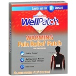 WellPatch® Capsaicin Pain Relief Patch 4枚 【別送料】