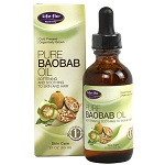 Life-Flo - Organic Pure Baobab Oil - 2 fl oz (60ml) バオバブオイル 【別送料】