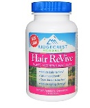 Ridge Crest Herbals - Hair ReVive - 120 カプセル ヘアー リバイブ 【別送料】