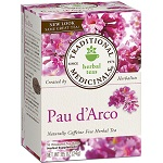 Traditional Medicinals - Pau d'Arco Herbal Tea - 16 Tea Bags パウダルコ茶 【別送料】