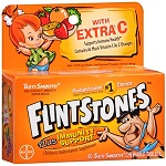 BAYER - FLINTSTONES™ plus Immunity Support With Extra C Chewables - 60チュアブル錠