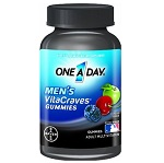 BAYER - One A Day® Men's VitaCraves® Gummies 男性用 - 150 グミ 【別送料】