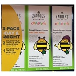 Zarbee's Natural children's Cough Syrup + Mucus 3Pack Day(8oz)2本/Night(4oz)1本セット