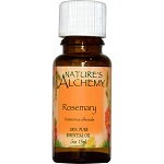 Nature's Alchemy - 100% Pure Essential Oil, Rosemary - 0.5 oz (15 ml) ローズマリー