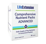 Life Extension(# 02198) - Comprehensive Nutrient Packs ADVANCED - 30 packets 【別送料】