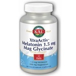 KAL - XtraActiv™ Melatonin 1.5mg Mag Glycinate - 60カプセル