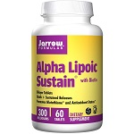 Jarrow Formulas - Alpha Lipoic Sustain 300, with Biotin 300 mg - 60 持続性錠剤