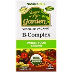Nature's Plus - Source of Life Garden, Organic B-Complex - 60カプセル