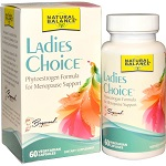 Natural Balance - Ladies Choice, Phytoestrogen Formula For Menopause Support - 60 カプセル