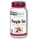 SOLARAY - Purple Tea Leaf Extract 100 mg - 30カプセル