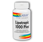 SOLARAY - Lipotropic 1000 Plus - 100カプセル