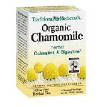 TRA - Organic Chamomile - 16 Wrapped Tea Bags  カモミ ールティー